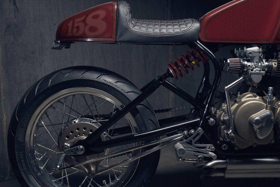 PopBang Honda CB400f, CB466f Classic Cafe Racer.